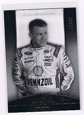 2012 PRESS PASS AJ ALLMENDINGER REDLINE PARALLEL #01/99 - NASCAR RARE #1