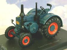 SUPERB U/H HACHETTE DIECAST 1/43 1949 LANZ D8506 BULLDOG TRACTOR IN BLUE TR23