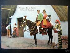 SPAIN~1900s VALENCIA~En la Huerta~Galanteria huertana