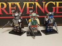 Mandalorians Boba Fett Jango jet commandos lot of 3 minifigures  Star Wars USA