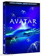 AVATAR VERSION EXTENDIDA EDICION COLECCIONISTAS 3 DVD NUEVO ( SIN ABRIR ) EXTRAS