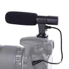MIC-01 External Stereo Microphone For Nikon D5200 D5500 D750 D800 D500 D5 D4s