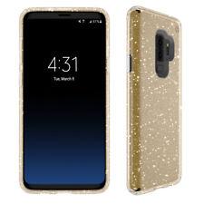 COVER Custodia Glitter Morbida Silicone GEL per Samsung Galaxy S9 PLUS Oro