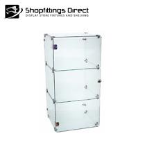 Display Cabinet Glass Cube 3 Mini Counter Top   - CUBE3MINI