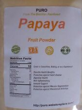 Papaya 8OZ FREEZE DRIED Fruit Powder PURO SKIN HAIR HEALTH FRESH BRAZIL Non GMO