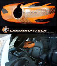 MK3 Mini F54 F55 F56 F57 F60 orange Union Jack Innenspiegelgehäuse