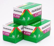 Fuji Fujicolour C200 35mm 36exp 3 Rolls Cheap Colour Print Film Exp Date 11/2021