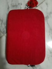"Kipling womens Lex Solid Tech Case RED  Size For 8"" Tablet. NWT"