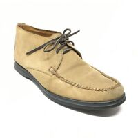 Men's Peter Millar Chukka Boots Shoes Size 11 Brown Suede Casual Lace Up W12