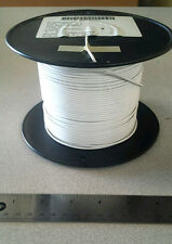 ( 500 FT Spool ) M22759/8-18-9 White Aircraft Wire (18Awg) 19C/30Awg 600V