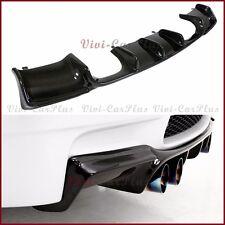 Carbon Fiber GS Type Rear Diffuser For 08-13 BMW E92 E93 M3 Bumper Coupe Convert
