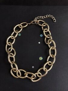 Vintage Style Gold Chain Necklace. Women's Chain Necklace. Gold Jewellery