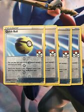 Pokemon Quick Ball League Cup Promo Playset (4 Cards) Brand New , Mint