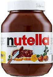 FERRERO NUTELLA 900 GR VASO IN VETRO CREMA SPALMABILE ALLE NOCCIOLE