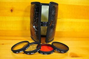 Nikon CA-2 Filter Kit w/original case A2, O56, B2, ND4x -Excellent Condition-