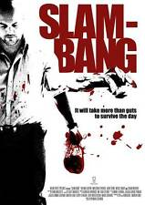 SLAM-BANG Movie POSTER 27x40 Roland Gaspar Malcolm Ferreira Nicole Smart Shaun