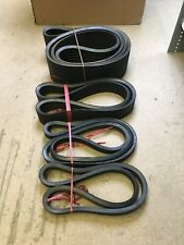 Set of Belts to fit JENZ HEM 561 Wood Chipper