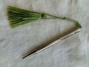 Vintage Life-Long Sterling Silver Propelling Pencil - Pat 439906 - England
