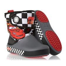 NEW!! Genuine Crocs Cars gust boot lightning mcqueen rain boots size C6