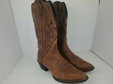 Justin Women's Leather Western Boots L2559 Mustang Cowhide Women's Size 7.5 B