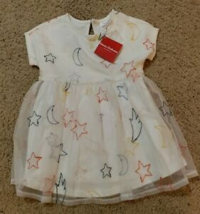 Hanna Andersson Size 100 Size 4 Stars Moon Dress NWT $56
