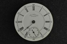 """VINTAGE 18 SIZE """"A.T. & CO"""" WALTHAM H.C. POCKET WATCH MOVEMENT - NOT RUNNING"""