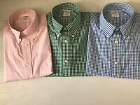 NWT BROOKS BROTHERS 1818 MEN'S ORIGINAL POLO REGENT L/S SHIRTS SZ S_XL $59.50