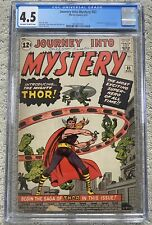 Journey into Mystery #83 1962 Marvel First Appearance Of Thor CGC 4.5