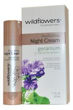 Wildflowers Skincare Night Cream Hydrating 50ml for Sensitive Skin