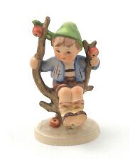 """Vintage Goebel Germany Hummel Figurine """"Apple Tree Boy"""" 142 3/0 TMK-3 (2)"""