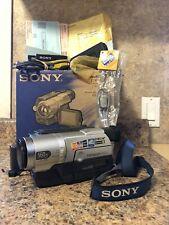 SONY NTSC Hi8 Analog Camcorder - USB Video Transfer - VGC (CCD-TRV608) TESTED