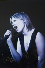 DIDO original hand signed mounted photo 10.2 x 8 inches by Mel Longhurst