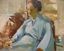 Yvonne DEWALS (XX) HsP Kimono / Ecole belge Expressionnisme / Années 40 ou 50