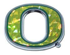 "Oregon Ducks Chrome Metal Auto Emblem (""O"" with color) NCAA Licensed"