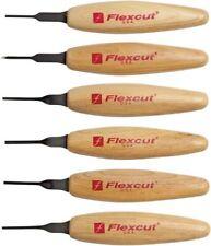 Flexcut MT910 Mixed Profile Carving Micro Tools Set Of 6