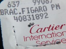 Cartier screw. 40831892. Brac. Figaro PM, 637 99067, for watch repair