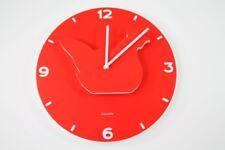 Karlsson Horloge murale Animal Farm Rouge Poulet Lulu Ka4650 bois - MDF 35cm