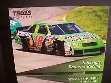 Rare Dale Jarrett #18 Interstate Batteries Traks Premium 1994 Card #108