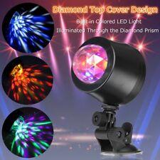 Car Music Rhythm 6LED RGB Sound Activated Interior Light Disco Flash Magic Ball