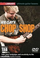 LICK LIBRARY CHOP SHOP LEVI CLAY LEARN RIFFS LEARN TO PLAY ROCK TAB Guitar DVD