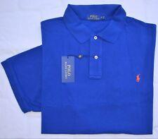 New 4XB 4XL BIG 4X POLO RALPH LAUREN Men short sleeve shirt royal blue top XXXXL