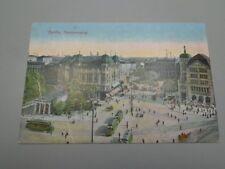 Original AK Berlin 1913 Potsdamer Platz Strassenbahn Kutsche