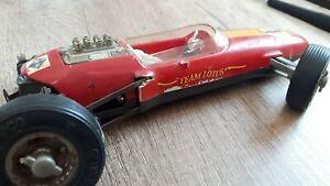 Alter Lotus Formel 1 Rennwagen von Schuco,Nr.1071,defekt,Ersatzteilträger !!