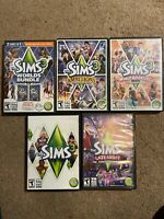 Lot of 6 The Sims 3 Games and Expansion Packs With one Bundle - Nice Condition