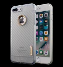 CARBON Handyhülle für Apple iPhone 8 Tasche Hülle - Transparent (P2TG)