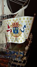 Heller Le Soleil Royal - set of flags for model, 1:100