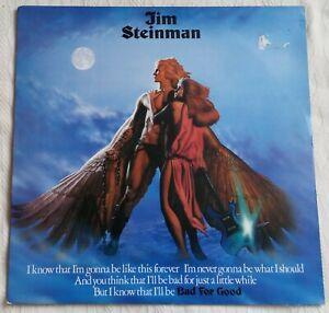 "Jim Steinman - Bad For Good - 1981 12"" Vinyl Album"