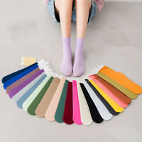 Velvet Socks Women's Tube Socks Candy Color Ladies Korean Version Pile Socks