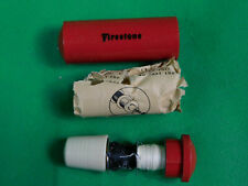 Vintage  Firestone Sewing Thread Case Advertising RED