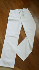 Zara White Loose Fit Wide Leg Jeans. New with tags. Size 42 (14).